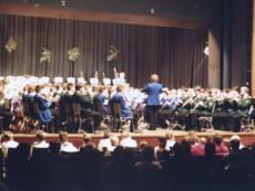 Weihnachtskonzert 1986 mit der Städt. Kapelle Ahaus