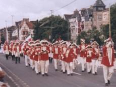 Rosenmontagsumzug in Düsseldorf 1998