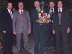 Der erste gewählte Vorstand 1976